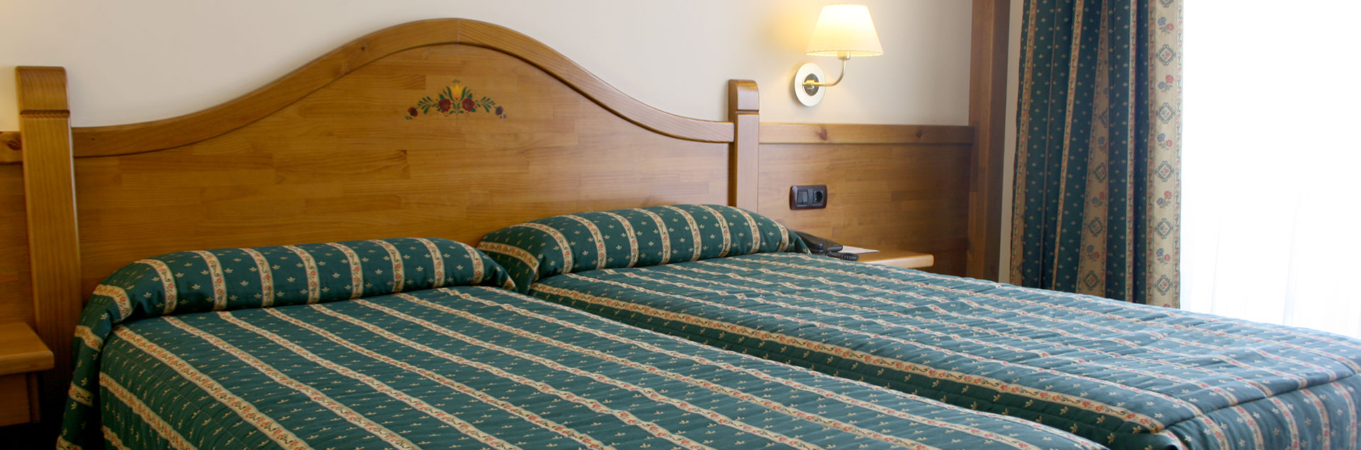 double room with views hotel Soldeu